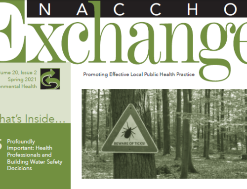NACCHO Spring Exchange issue on Environmental Health Highlights the Retail Food Safety Regulatory Association Collaborative